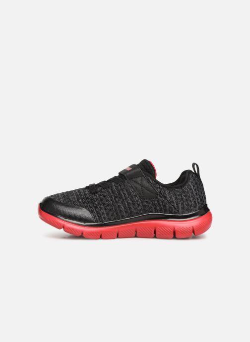 Chaussures de sport Skechers Flex Advantage 2.0 Geo Blast Noir vue face