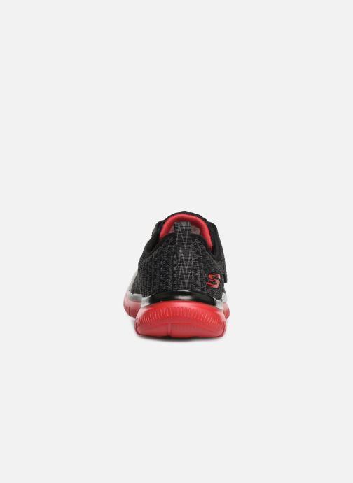 Chaussures de sport Skechers Flex Advantage 2.0 Geo Blast Noir vue droite