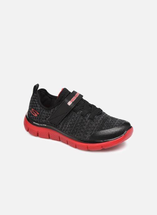Chaussures de sport Skechers Flex Advantage 2.0 Geo Blast Noir vue détail/paire