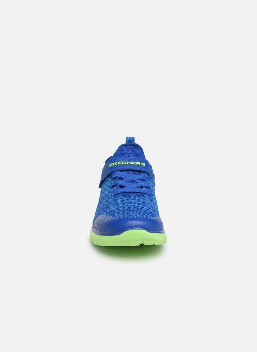 Chaussures de sport Skechers Flex Advantage 2.0 Geo Blast Bleu vue portées chaussures