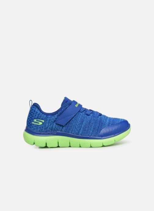 Chaussures de sport Skechers Flex Advantage 2.0 Geo Blast Bleu vue derrière