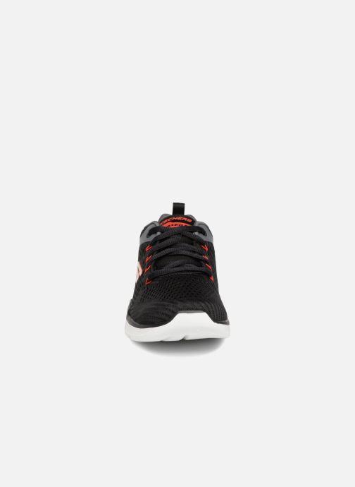 Sportschuhe Skechers Equalizer 3.0 schwarz schuhe getragen