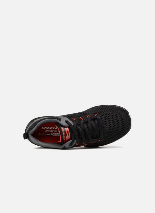 Sport shoes Skechers Equalizer 3.0 Black view from the left