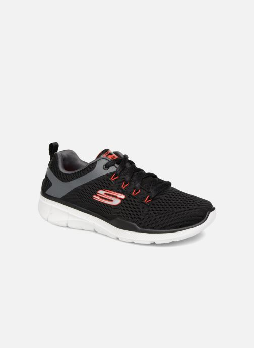 Sport shoes Skechers Equalizer 3.0 Black detailed view/ Pair view