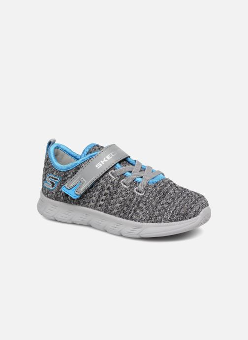 Trainers Skechers Comfy Flex Easy Pace Grey detailed view/ Pair view