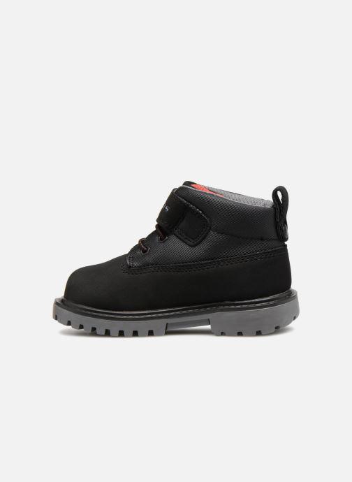 Boots en enkellaarsjes Skechers Mecca Bolders Zwart voorkant