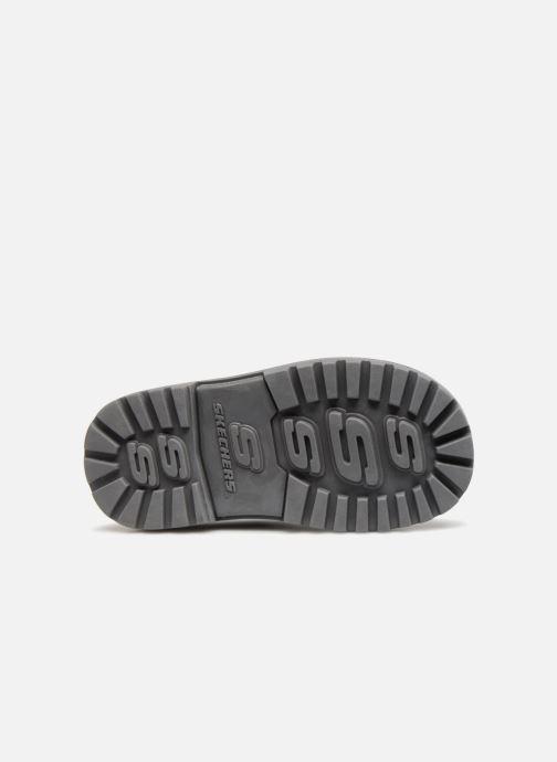 Bottines et boots Skechers Mecca Bolders Noir vue haut