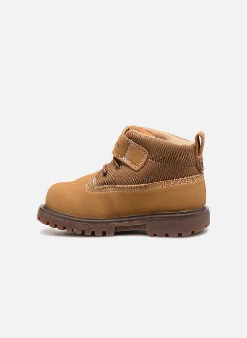 Boots en enkellaarsjes Skechers Mecca Bolders Bruin voorkant