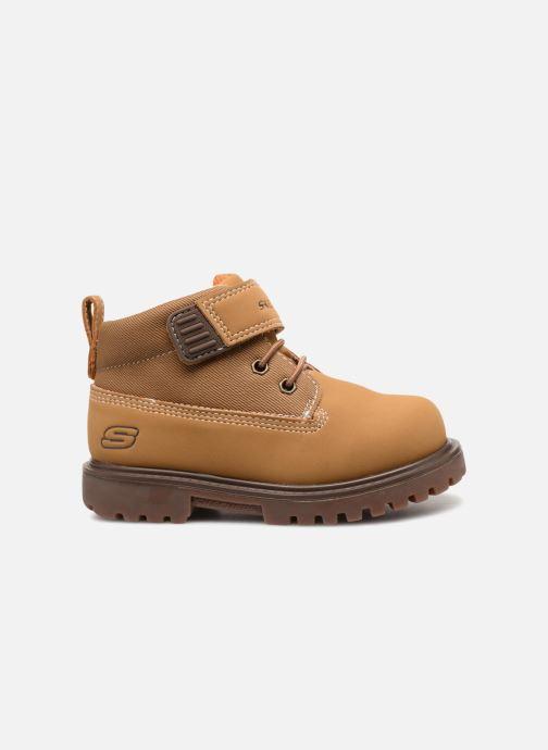 Boots en enkellaarsjes Skechers Mecca Bolders Bruin achterkant