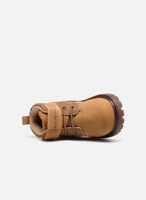 Bottines et boots Skechers Mecca Bolders Marron vue gauche