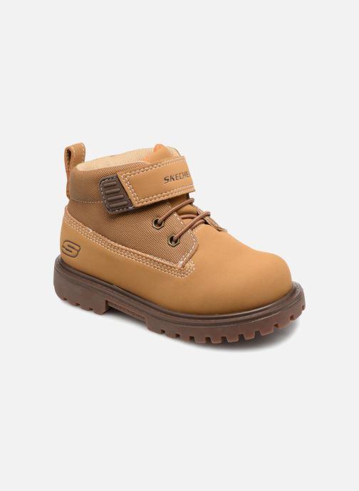 Bottines et boots Skechers Mecca Bolders Marron vue détail/paire