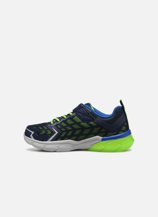 Scarpe sportive Skechers Thermoflux Nano-Grid Azzurro immagine frontale