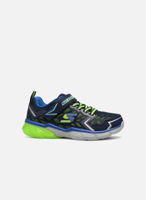 Sportschoenen Skechers Thermoflux Nano-Grid Blauw achterkant