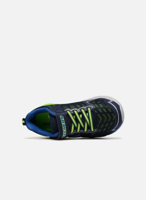 Scarpe sportive Skechers Thermoflux Nano-Grid Azzurro immagine sinistra