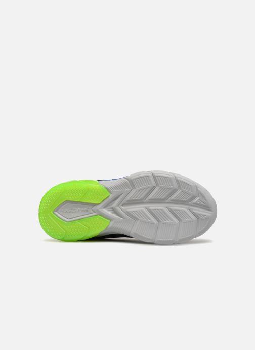 Scarpe sportive Skechers Thermoflux Nano-Grid Azzurro immagine dall'alto
