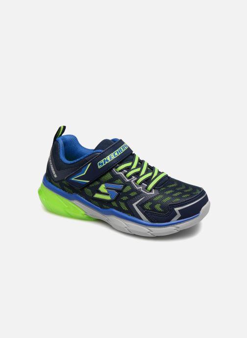 Sportschoenen Skechers Thermoflux Nano-Grid Blauw detail