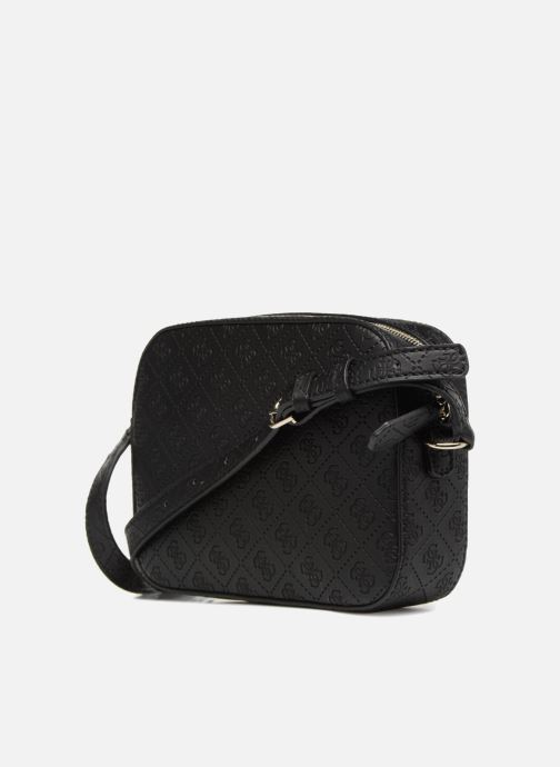 Guess KAMRYN CROSSBODY TOP ZIP (Noir) Sacs à main chez