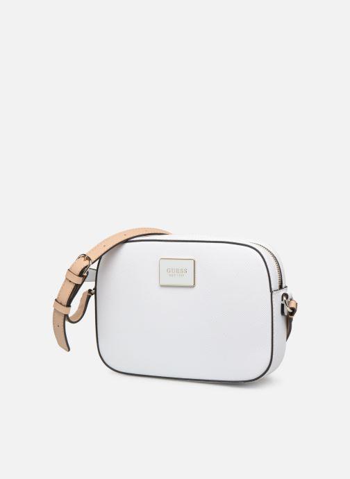 Handtaschen Guess KAMRYN CROSSBODY TOP ZIP weiß schuhe getragen
