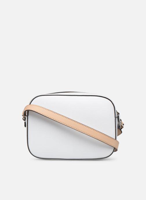 Handtaschen Guess KAMRYN CROSSBODY TOP ZIP weiß ansicht von vorne