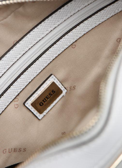 Handtaschen Guess KAMRYN CROSSBODY TOP ZIP weiß ansicht von hinten
