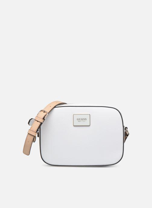 Handtaschen Guess KAMRYN CROSSBODY TOP ZIP weiß detaillierte ansicht/modell