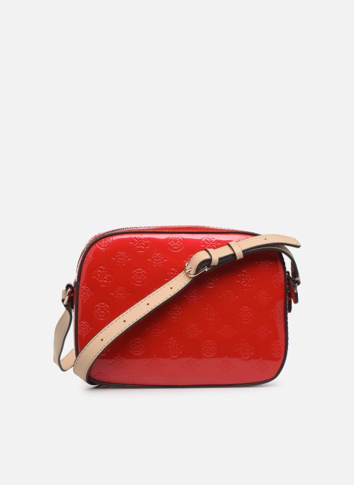 Bolsos de mano Guess KAMRYN CROSSBODY TOP ZIP Rojo vista de frente