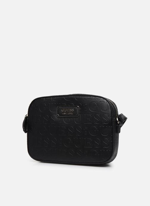 Handtaschen Guess KAMRYN CROSSBODY TOP ZIP schwarz schuhe getragen