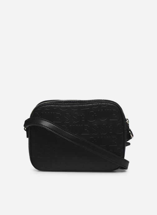 Borse Guess KAMRYN CROSSBODY TOP ZIP Nero immagine frontale