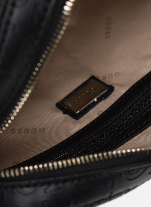 Handtaschen Guess KAMRYN CROSSBODY TOP ZIP schwarz ansicht von hinten