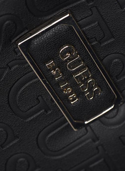 Handtaschen Guess KAMRYN CROSSBODY TOP ZIP schwarz ansicht von links