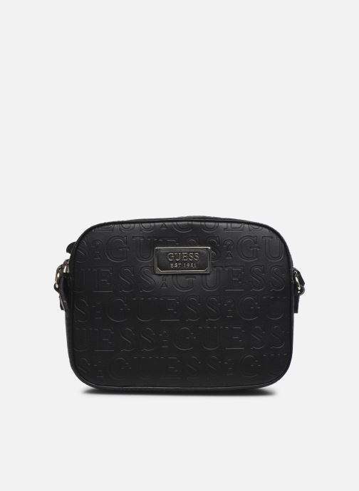 Handtassen Guess KAMRYN CROSSBODY TOP ZIP Zwart detail