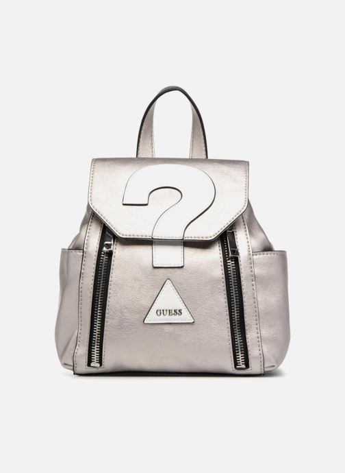 Guess URBAN SPORT SMALL BACKPACK Rucksacks in Silver at