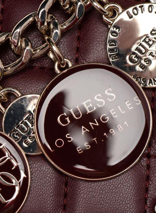 Handtassen Guess VICTORIA CROSSBODY FLAP Bordeaux links