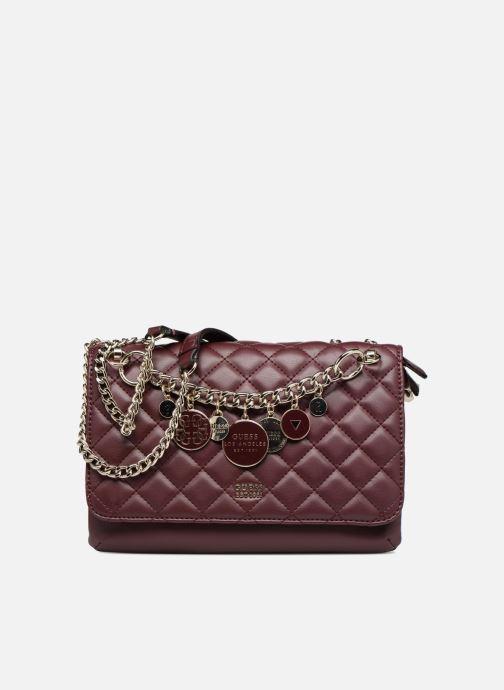 Handtaschen Guess VICTORIA CROSSBODY FLAP weinrot detaillierte ansicht/modell