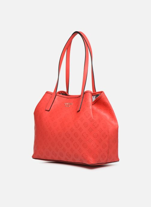 Handbags Guess VICKY TOTE Beige model view