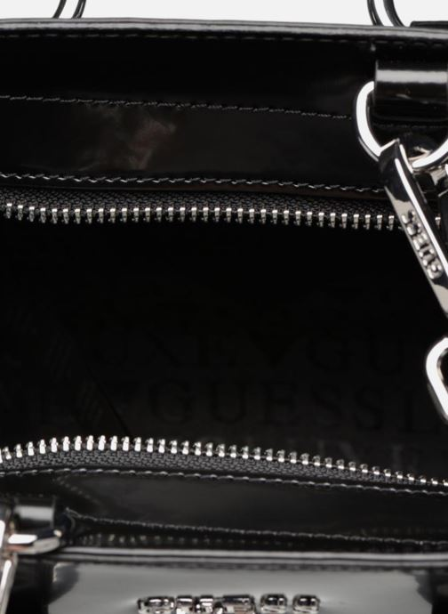 Guess REY LEATHER CROSSBODY TOP ZIP (Zwart) Handtassen