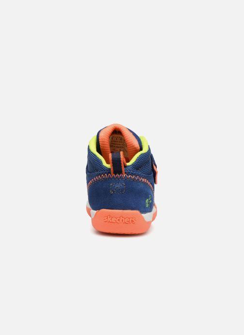 Sneakers Skechers Flex Play Mid Dash Azzurro immagine destra