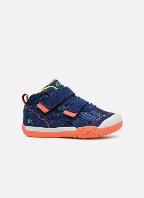 Sneakers Skechers Flex Play Mid Dash Azzurro immagine posteriore