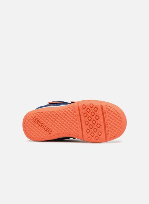 Sneakers Skechers Flex Play Mid Dash Azzurro immagine dall'alto