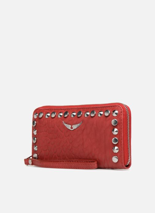 Portemonnaies & Clutches Zadig & Voltaire COMPAGNON OUTLI rot schuhe getragen