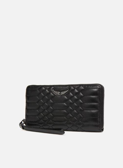 Pelletteria Zadig & Voltaire COMPAGNON MAT Nero modello indossato