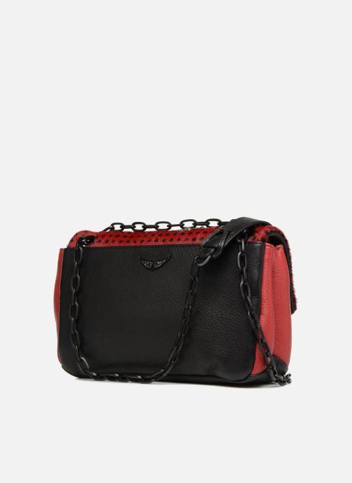 Handtaschen Zadig & Voltaire ZIGGY SAFARI mehrfarbig ansicht von rechts