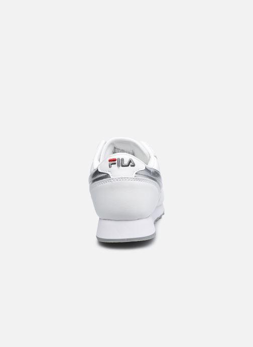 Baskets FILA Orbit Low W Blanc vue droite