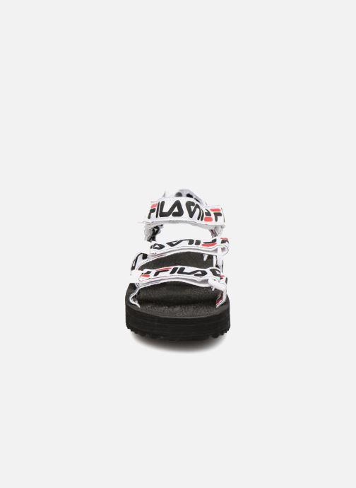 Sandales et nu-pieds FILA Tomaia Logo Sandal wmn Noir vue portées chaussures