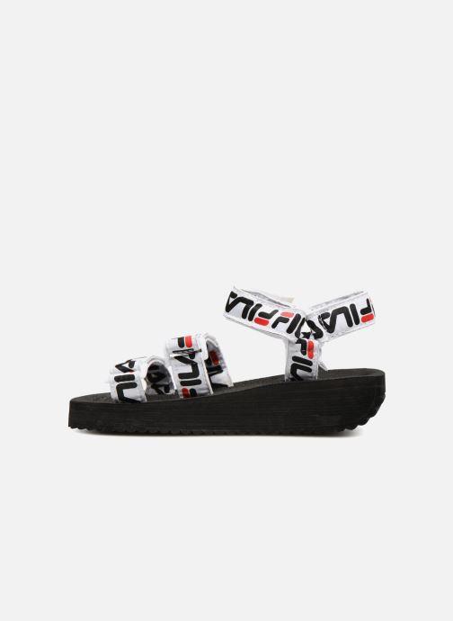 Sandalias FILA Tomaia Logo Sandal wmn Negro vista de frente