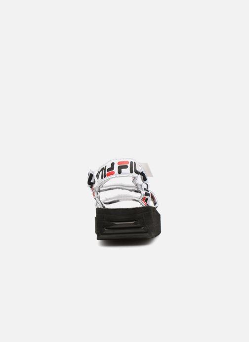 Sandales et nu-pieds FILA Tomaia Logo Sandal wmn Noir vue droite