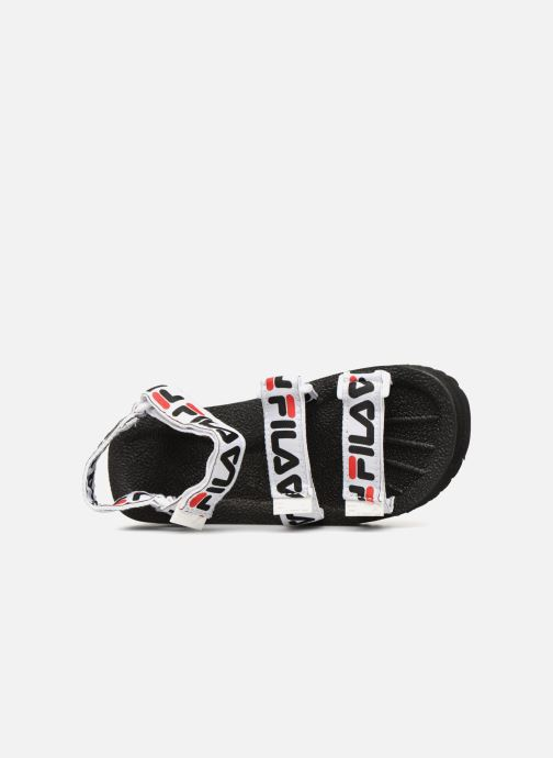 Sandalen FILA Tomaia Logo Sandal wmn Zwart links