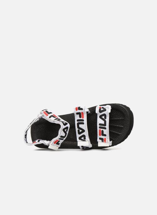 Sandales et nu-pieds FILA Tomaia Logo Sandal wmn Noir vue gauche