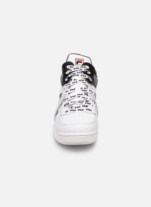 Baskets FILA Cage CB mid wmn Blanc vue portées chaussures