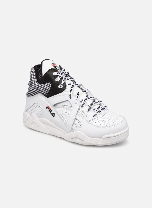 Baskets FILA Cage CB mid wmn Blanc vue détail/paire